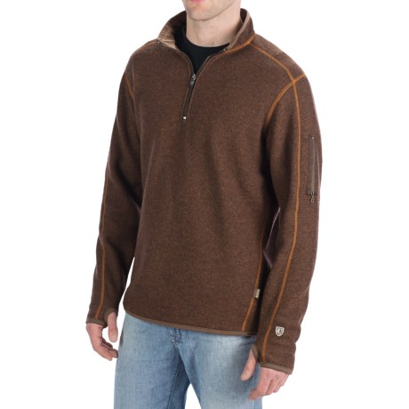 Kuhl Sabr Pullover - Zip Neck, Long Sleeve (For Men)