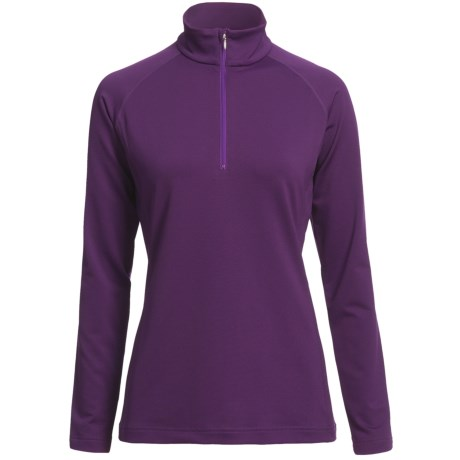Descente Zoe Ski Zip Turtleneck - Long Sleeve (For Women)