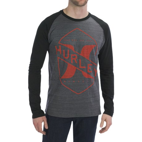 Hurley Breakaway Marble T-Shirt - Long Sleeve (For Men)