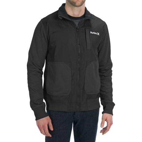 Hurley Altitude Track Fleece Jacket (For Men)