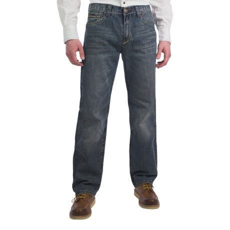 Petrol Seth Jeans - Regular Straight Fit (For Men)