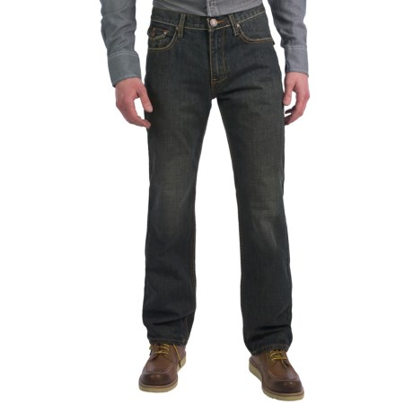 Petrol Jordan Jeans - Regular Straight Fit (For Men)