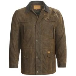 Outback Trading Pathfinder Oilskin Jacket (For Men)