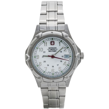 Wenger Standard Issue Watch - Stainless Steel (For Women)