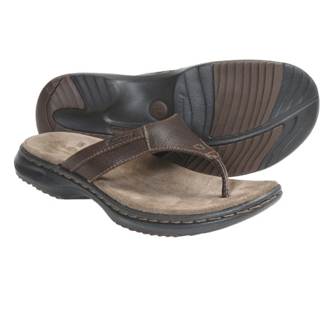 Dunham Biscayne Sandals - Leather, Flip-Flops (For Men)