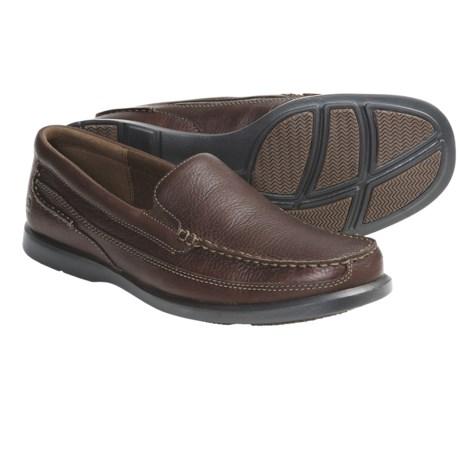 Dunham Boardwalk Shoes - Leather, Slip-Ons (For Men)