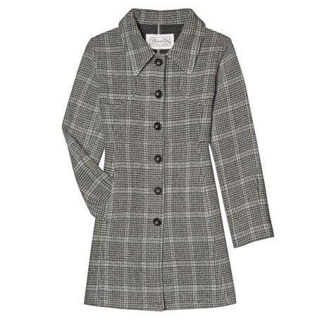 Aventura Clothing Ava Plaid Coat - Wool Blend (For Women)