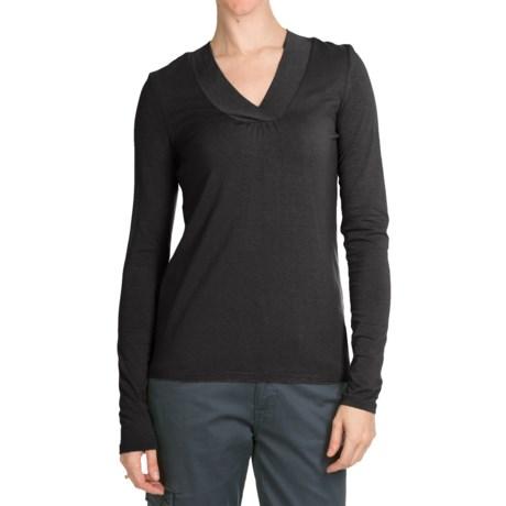 Aventura Clothing Glenora Shirt - V-Neck, Long Sleeve (For Women)