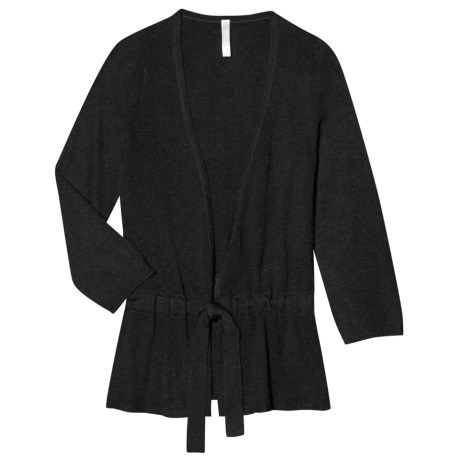 Aventura Clothing Tandy Cardigan Sweater - Waist Tie, Open Front (For Women)