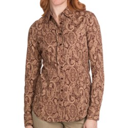 Aventura Clothing Serendipity Shirt - Button Front, Long Sleeve (For Women)