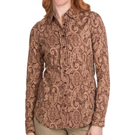 Aventura Clothing Serendipity Shirt - Button Front, Long Sleeve (For Women)
