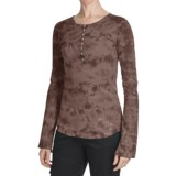 Aventura Clothing Chloe Henley Shirt - Cotton, Long Sleeve (For Women)