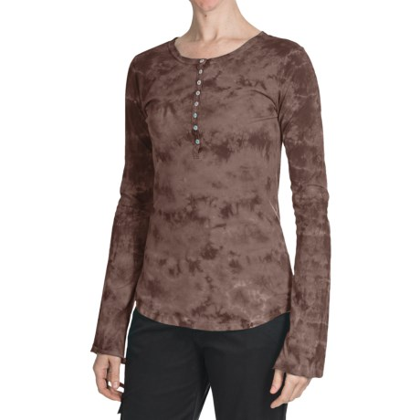 Aventura Clothing Chloe Henley Shirt - Cotton, Long Sleeve (For Women)