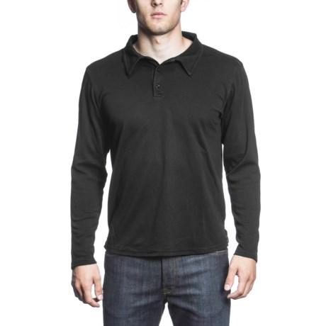 Agave Denim Gold Coast Polo Shirt - Supima® Cotton, Long Sleeve (For Men)