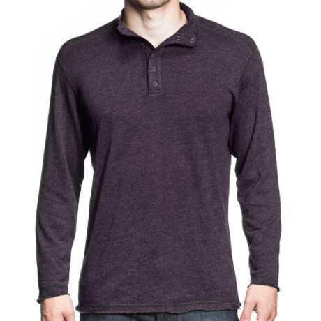 Agave Denim Pulse Shirt - Snap Mock Neck, Long Sleeve (For Men)
