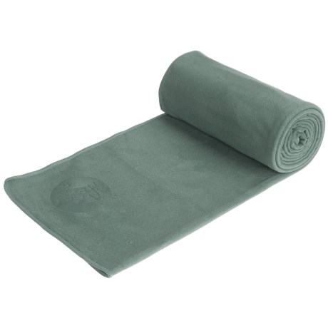 eQua by Manduka Long Yoga Mat Towel - Microfiber