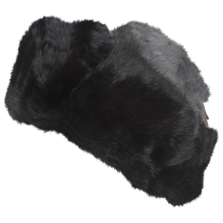 Mad Bomber® Trooper Hat - Rabbit Fur, Insulated (For Men and Women)