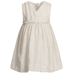 Fancy V-Neck Dress - Sleeveless (For Infant Girls)