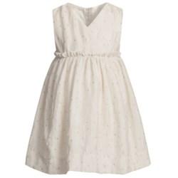 Fancy V-Neck Dress - Sleeveless (For Infant Girls)