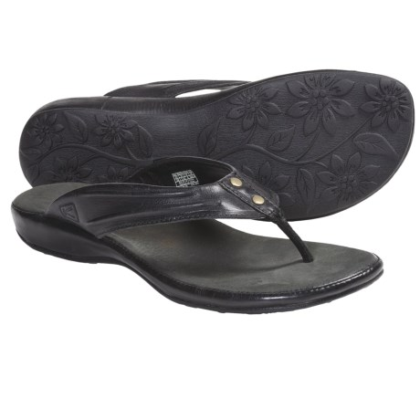 Keen Emerald City Thong Sandals - Leather (For Women)