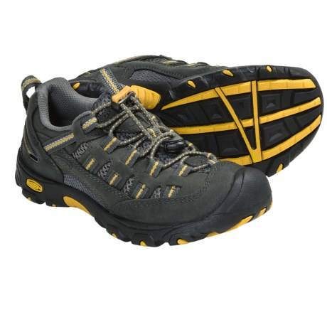 Keen Alamosa Trail Shoes - Leather (For Youth Boys and Girls)
