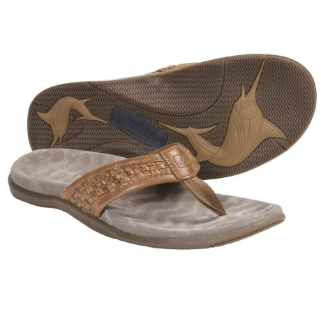 Sperry Top-Sider Largo Sandals - Leather, Flip-Flops (For Men)