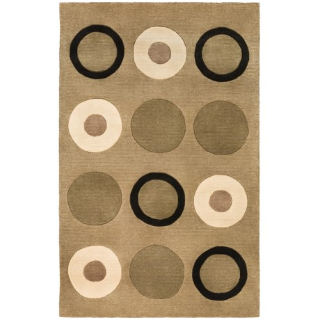 "Momeni New Wave Transitional Hand-Tufted Wool Area Rug - 7'6""x9'6"""