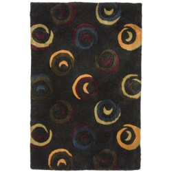 "Momeni New Wave Transitional Hand-Tufted Wool Area Rug - 5'3""x8'"
