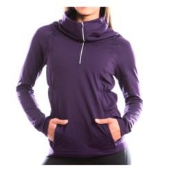 Moving Comfort NoChill Shirt - Zip Neck, Long Sleeve (For Women)