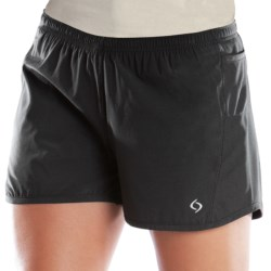 Moving Comfort Frontrunner Shorts - Built-In Brief (For Women)