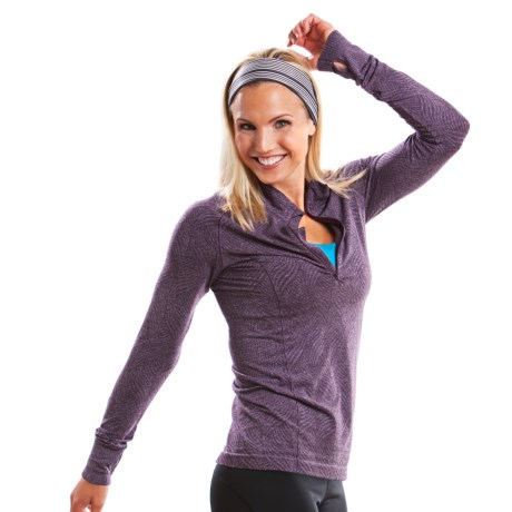 Moving Comfort Flex Shirt - Long Sleeve (For Women)