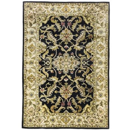 """Kaleen Rita Handcrafted Area Rug - Washed Virgin Wool, 5'x7'9"""""""