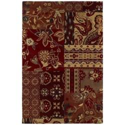 """Kaleen Athenian Garden Area Rug - Handcrafted Virgin Wool, 3'6""""x5'3"""""""