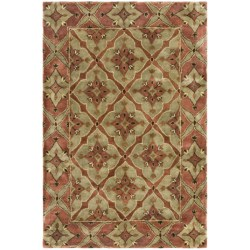 """Kaleen Maharaja Garden Area Rug - Handcrafted Wool, 3'6""""x5'3"""""""