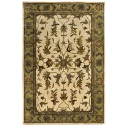 "Kaleen Royal Garden Rug - Handcrafted Virgin Wool, 3'6""x5'3"""