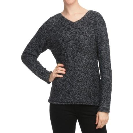 White Sierra Top Notch V-Crew Sweater (For Women)
