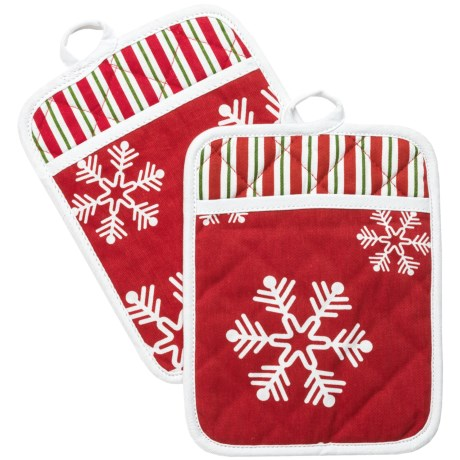 Traditions by Waverly Holiday Pot Holders - Set of 2