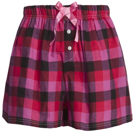 Northwest Blue Lounge Shorts - Lightweight Cotton (For Women)