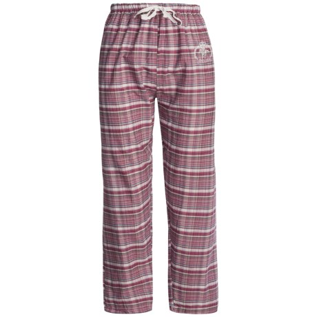 Monte Carlo Polo & Jockey Club Lounge Pants - Lightweight Cotton (For Women)