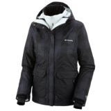Columbia Sportswear Parallel Peak Omni-Heat® Interchange Jacket - 3-in-1 (For Women)
