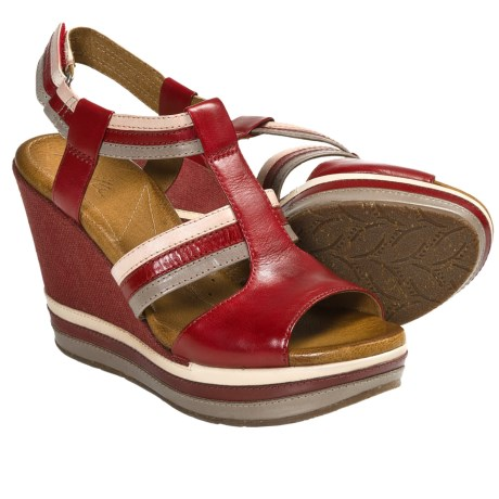 Naya Elise Platform Wedge Sandals (For Women)