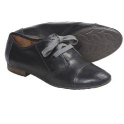 Naya Teak Shoes - Leather, Oxfords (For Women)