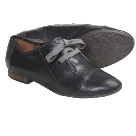 Naya Teak Shoes - Leather, Oxfords (For Women)