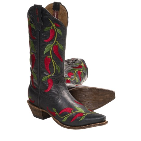 """Twisted X Boots Steppin' Out Cowboy Boots - 13"""", F-Toe (For Women)"""
