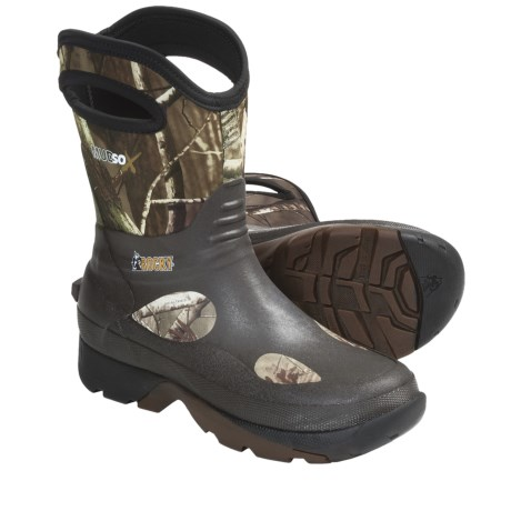 "Rocky Mud Sox 10"" Hunting Boots - Waterproof, Rubber-Neoprene (For Men)"