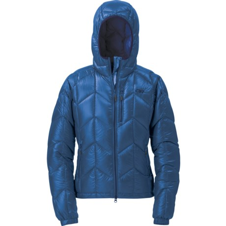 Outdoor Research Incandescent Down Hooded Jacket - 800+ Fill Power (For Women)