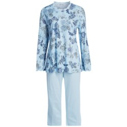 Fini Moore by Rosch Lettuce Edge Pajamas - Long Sleeve (For Women)