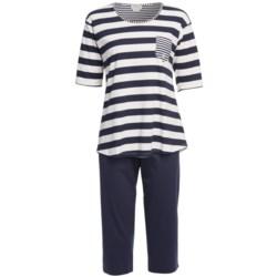 Rosch Short Cotton Pajamas - Elbow Sleeve (For Women)