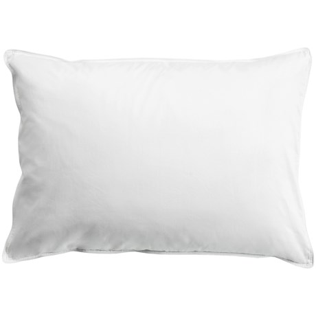 Downlite White Duck Down Pillow - King, Medium Density, 300 TC
