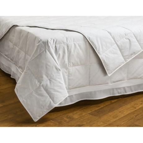 Downlite Hotel Quality White Duck Down Blanket - Full, 230 TC, 600 Fill Power